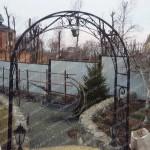 Кованые арки Владивосток