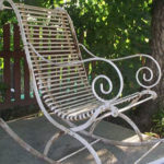 Кованые кресла качалки Владивосток