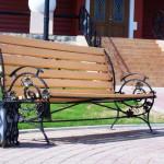 Кованные лавочки и скамейки Владивосток