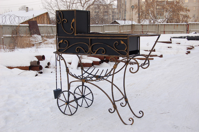 Кованый мангал во Владивостоке