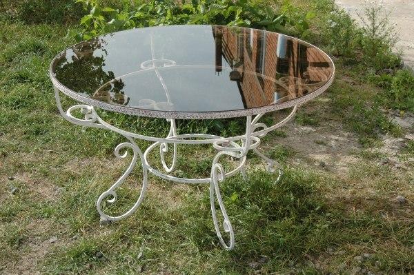 Кованые столы и столики ВладивостокКованые столы и столики Владивосток