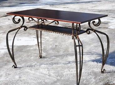 Кованые столы и столики Владивосток