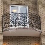 Французские кованые балконы Владивосток