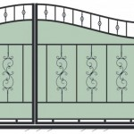 Эскизы кованых ворот