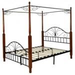 Кованая кровать с балдахином Владивосток