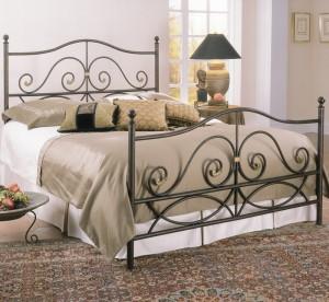 Кованая кровать черная Владивосток