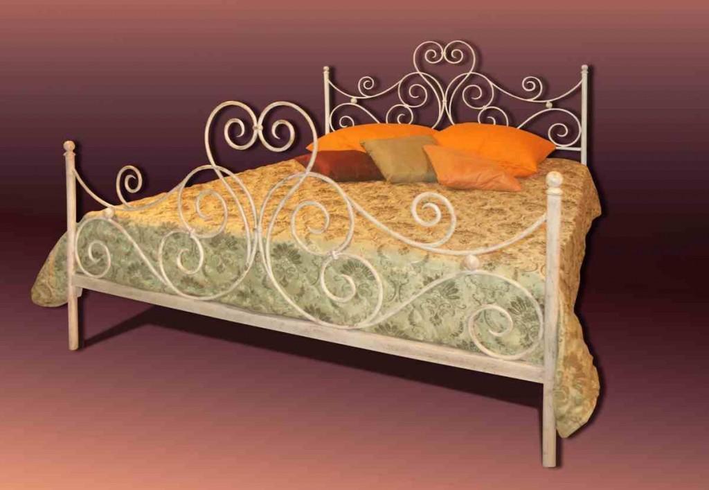 Белые кованые кровати Владивосток