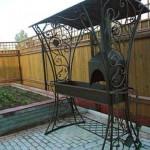 Кованые мангалы с крышей Владивосток