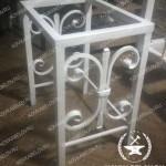 Белый кованый стул Владивосток