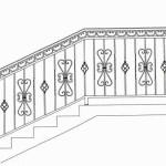 Эскизы кованых лестниц Владивосток